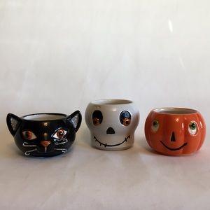 Halloween Tea Light Holders Stackable